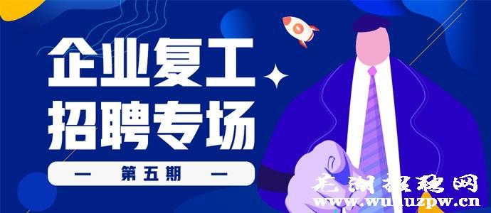 芜湖招聘网助力企业复工复产专题招聘